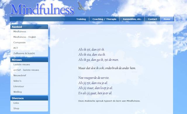 Mindfulness Website